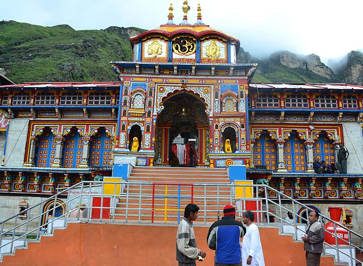 Badrinath-temple-in-Uttarakhand